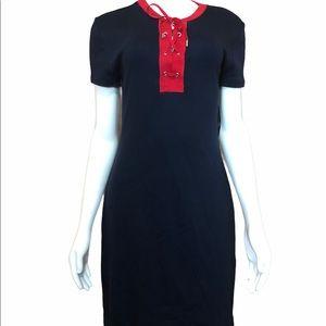 NWT Chaps Midi Length Cotton Dress S